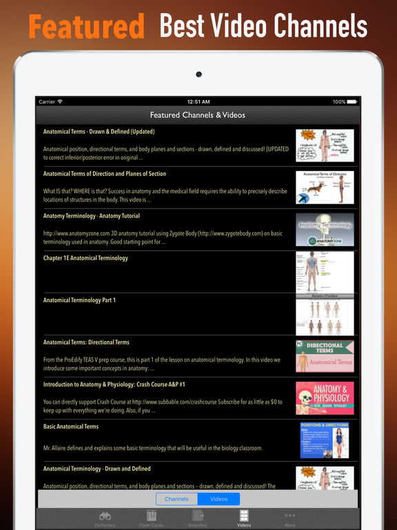 Anatomy Glossary- Cheatsheet with Study Guide screenshot 8