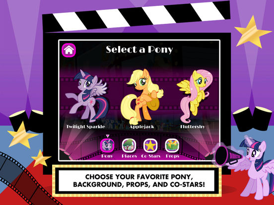 My Little Pony: Lights, Camera, Ponies! screenshot 6