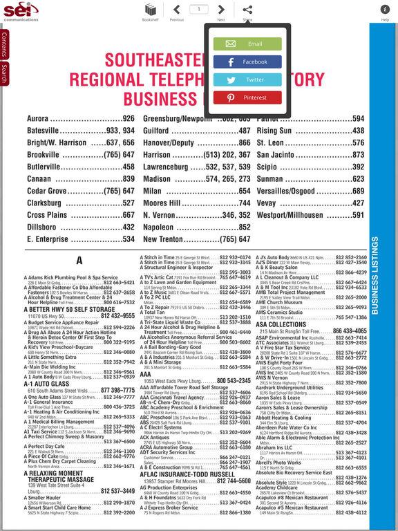 SEI Phone Book screenshot 9