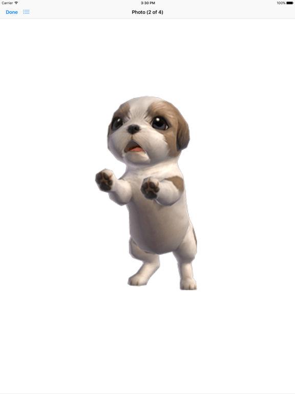 Shih Tzu - Animated Puppy Stickers screenshot 9