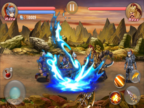 Action RPG-Blade Of Dragon Hunter Pro screenshot 6