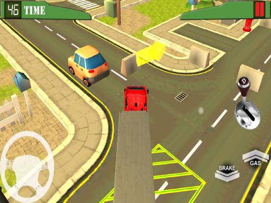 Heavy Vehicle Transport : Trail-er Truck Park-ing screenshot 4