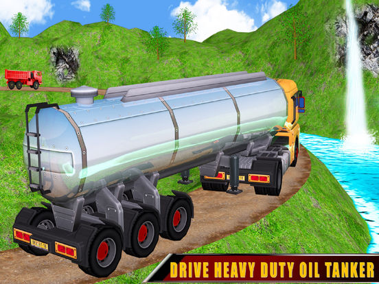 Cargo Oil 3D Truck Drive screenshot 5
