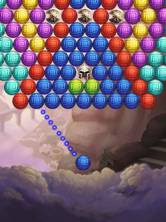 Hercules Pop Bubble Shooter screenshot 10