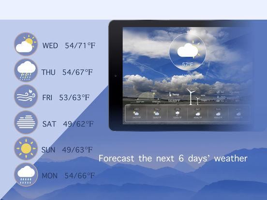 Dynamic Wea HD screenshot 10