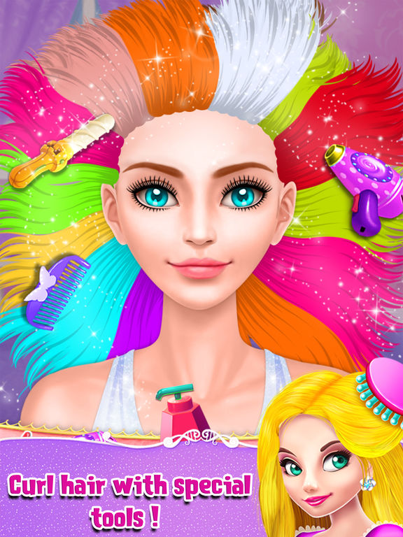 Royal Girl Makeup Salon screenshot 8