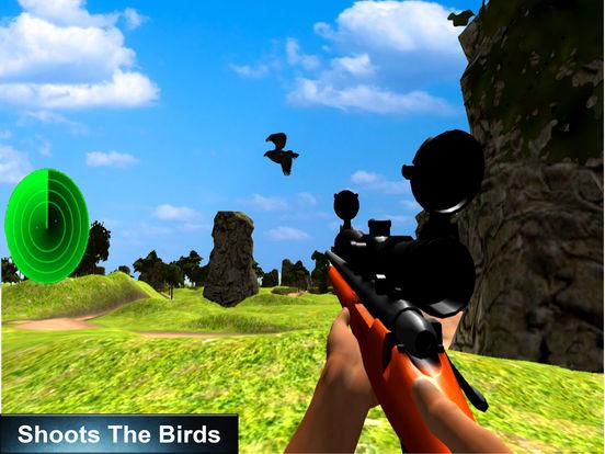 Birds Sniper Shot : 3D Adventure-s kill-er 2017 screenshot 6
