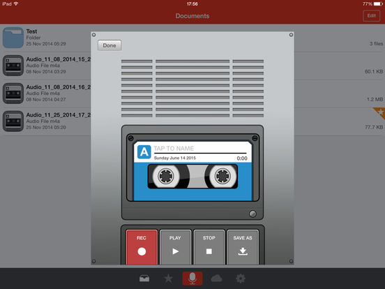 iphone voice recorder voice recorder free screenshot 12446