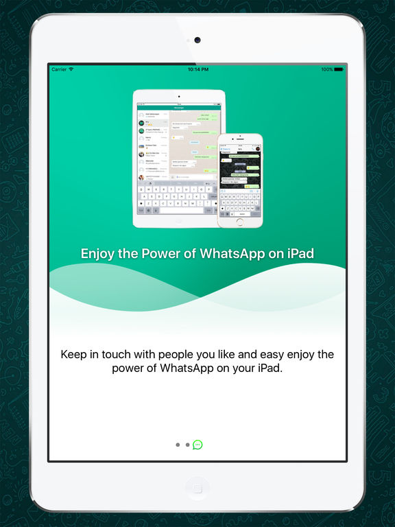 Messenger for WhatsApp for iPad screenshot #2