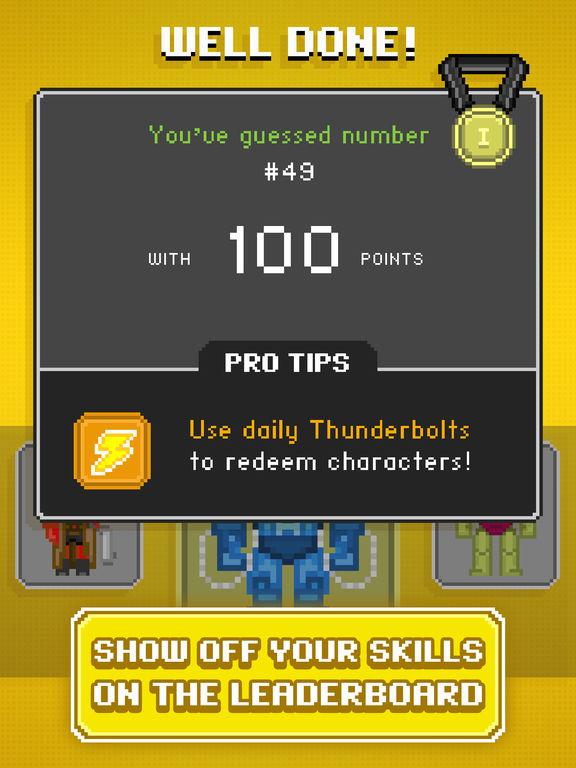 Guess the Pixel: Comics Super Heroes screenshot 10