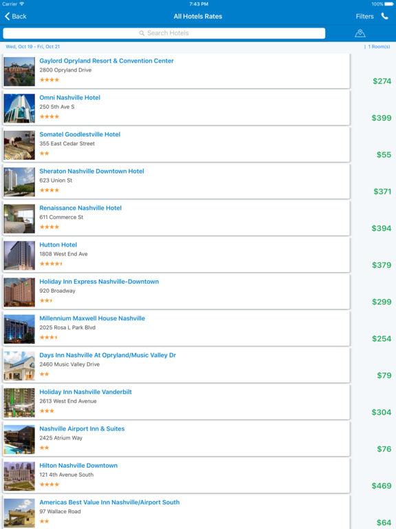 i4nashville - Nashville Hotels & Yellow Pages screenshot 8