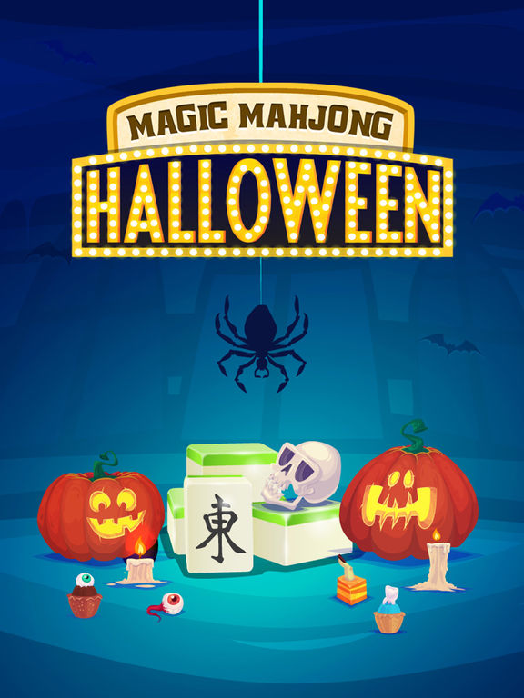 Magic Halloween Mahjong - Haunting Majong Game Pro screenshot 6