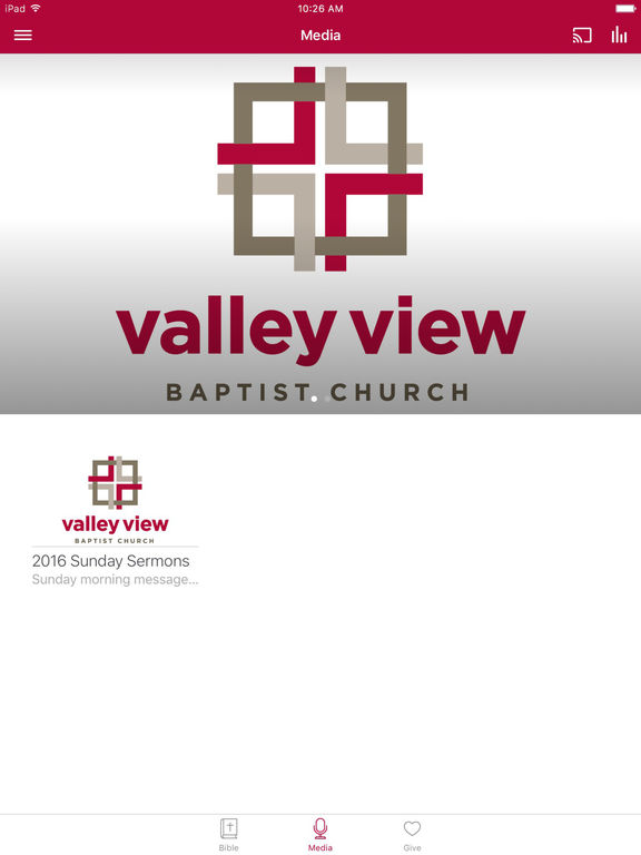 Valley View Baptist Mobile App screenshot 5