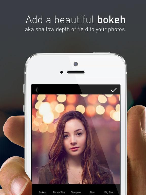 Portrait Blur - Free Lens and Depth Effect Bokeh screenshot 3