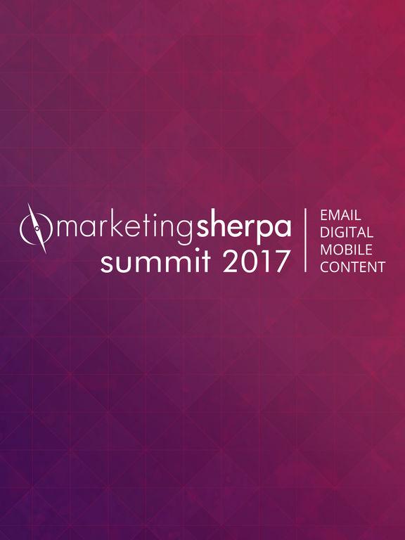 MarketingSherpa Summit 2017 screenshot 4