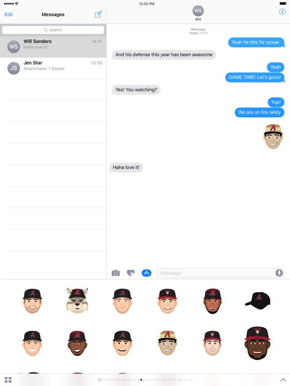 Arizona Diamondbacks 2016 MLB Sticker Pack screenshot 4