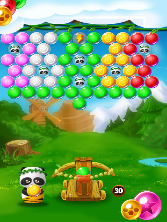 Crazy Ball Bear Rescue Baby screenshot 5