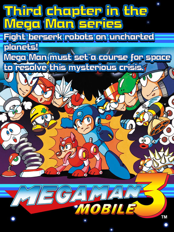 MEGA MAN 3 MOBILE screenshot 5