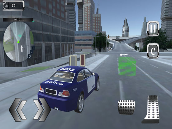 City Police Parking Kings : Highway Traffic Rush screenshot 6