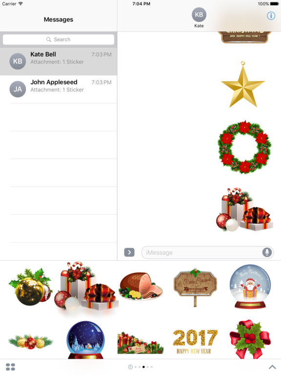 New Year Bundle Stickers for iMessage screenshot 9