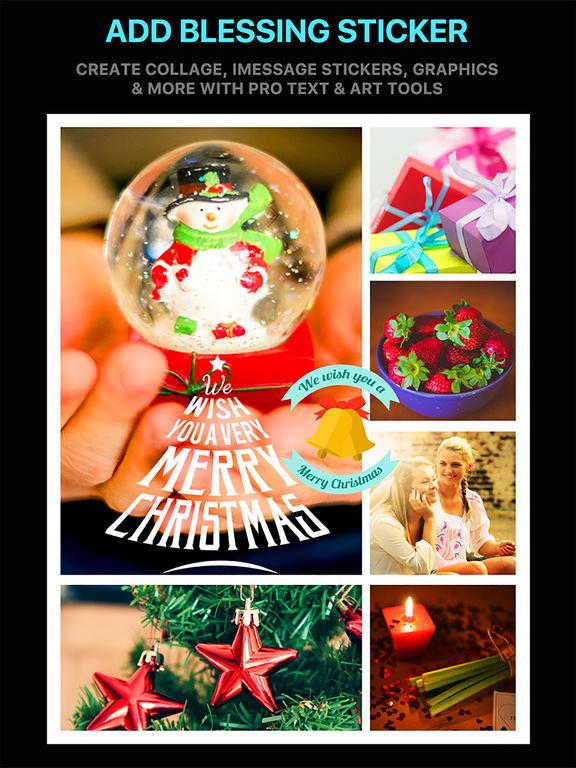 Emoji Collage Pro - Holiday Message Pic Stickers screenshot 8