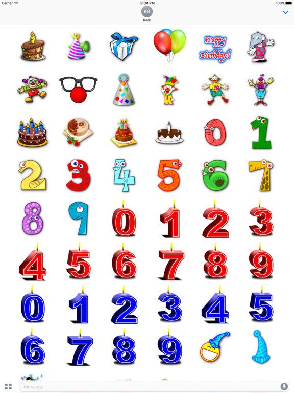 Happy Birthday! • Stickers screenshot 6