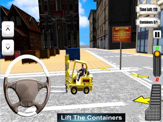 Gawadar CPEC Fork-Lifter : Cargo Contain-er Crane screenshot 4