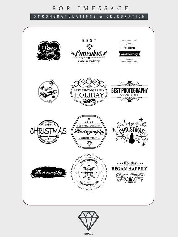 B&W Emoji Keyboard - Gift Sticker for Messenger screenshot 10