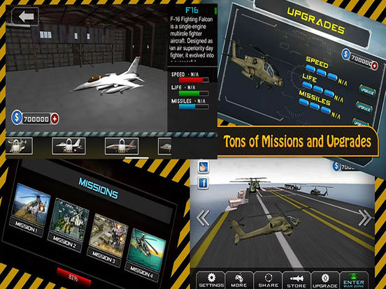 Apache Gunship 3D : Adventure Helicopter Battle Field screenshot 6