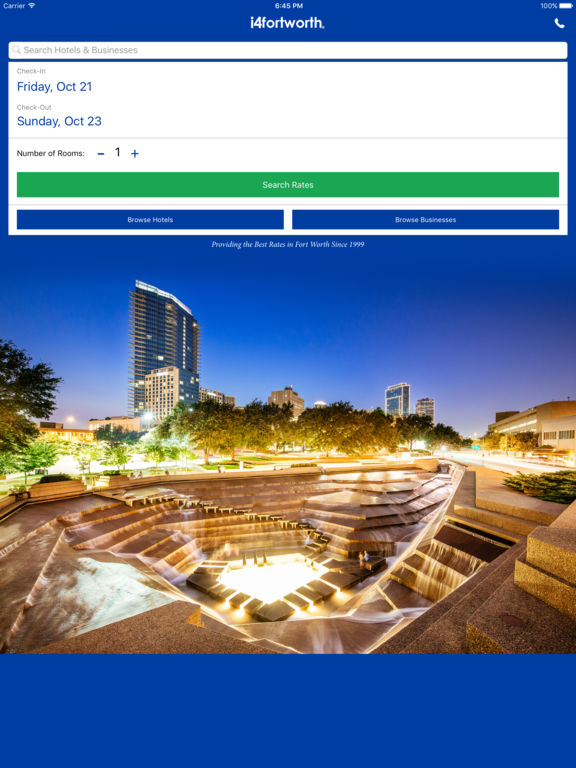 i4fortworth - Fort Worth Hotels & Yellow Pages screenshot 6