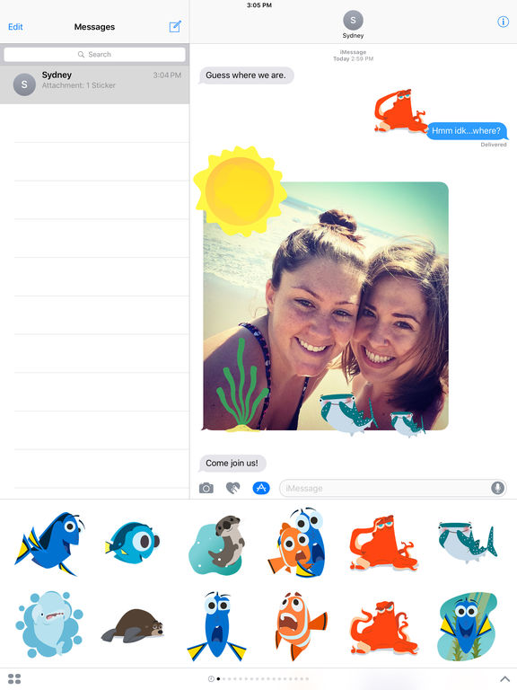 Disney Stickers: Finding Dory screenshot 5
