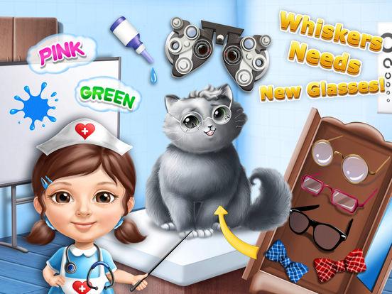 Sweet Baby Girl Cat Shelter – Pet Vet Doctor Care screenshot 7