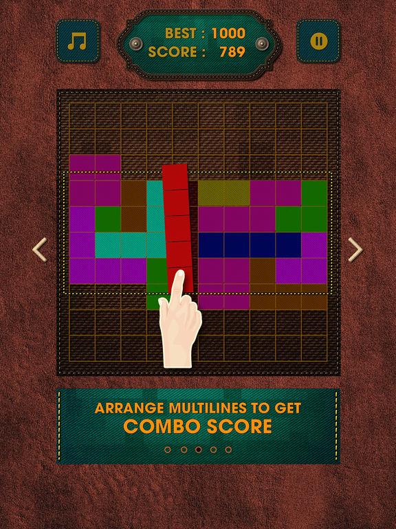 Vintage Block Puzzle Game screenshot 8