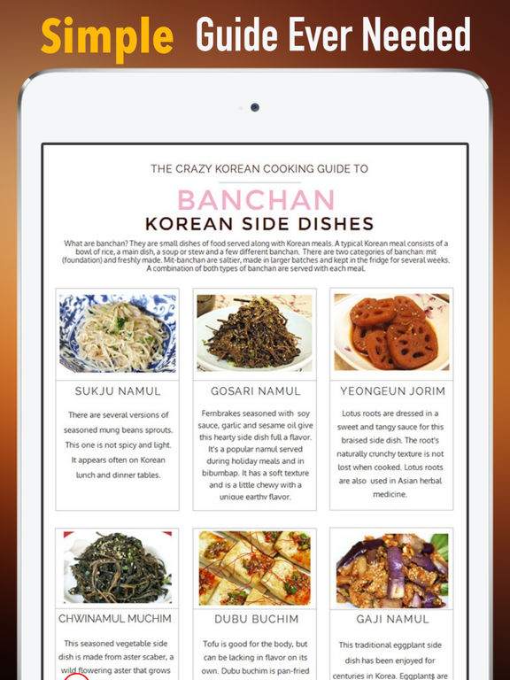 Korean Cooking for Beginners:Recipes,Cook Tips and Guide screenshot 7