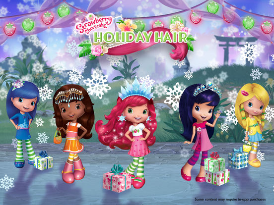 Strawberry Shortcake Holiday Hair - Fashion World screenshot 6