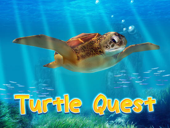 Ocean Turtle Simulator: Animal Quest 3D screenshot 5