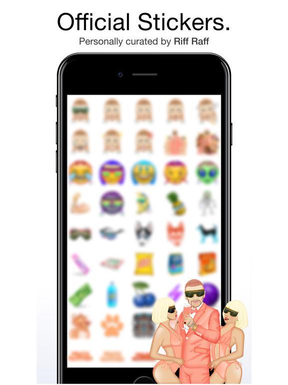 Riff Raff by Moji Stickers screenshot 6