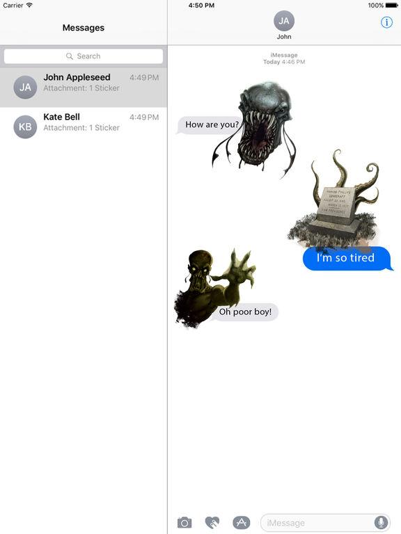 Lovecraft Stickers screenshot 4