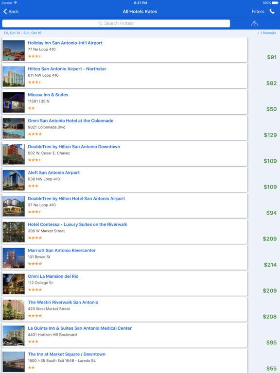 i4sanantonio - San Antonio Hotels & Yellow Pages screenshot 10
