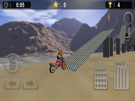 Extreme Bike Stunt : 3D Crazy Ride-r Free screenshot 7