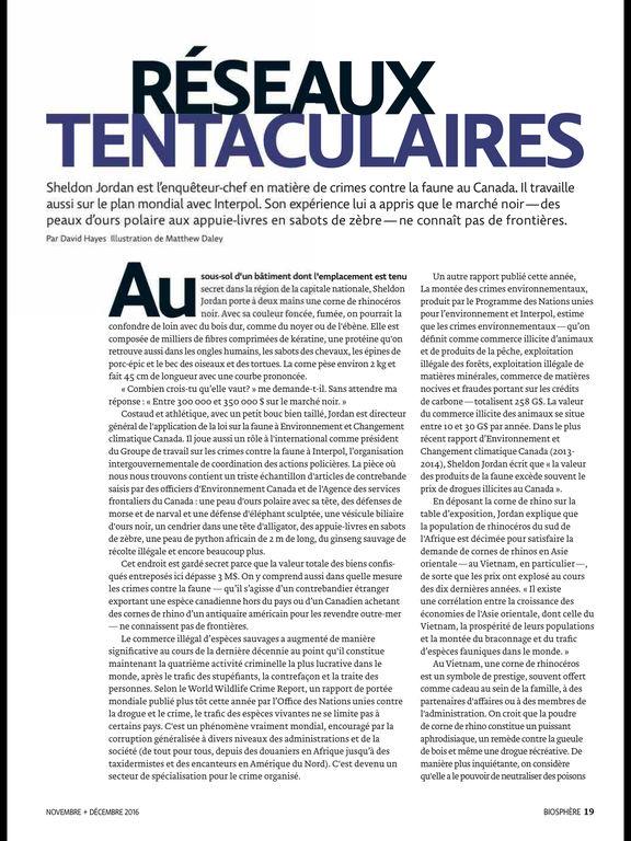 Biosphère Magazine screenshot 8