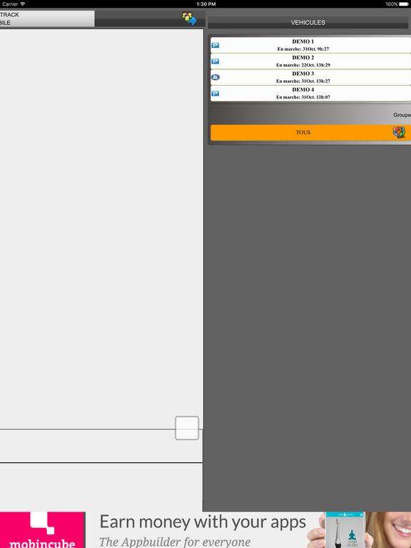 SENDATRACK screenshot 7
