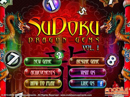 Sudoku Dragon Gems screenshot 6