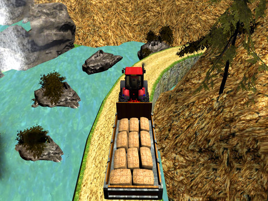 Real Truck Cargo Drive : 3D Tractor Sim-ulator screenshot 5