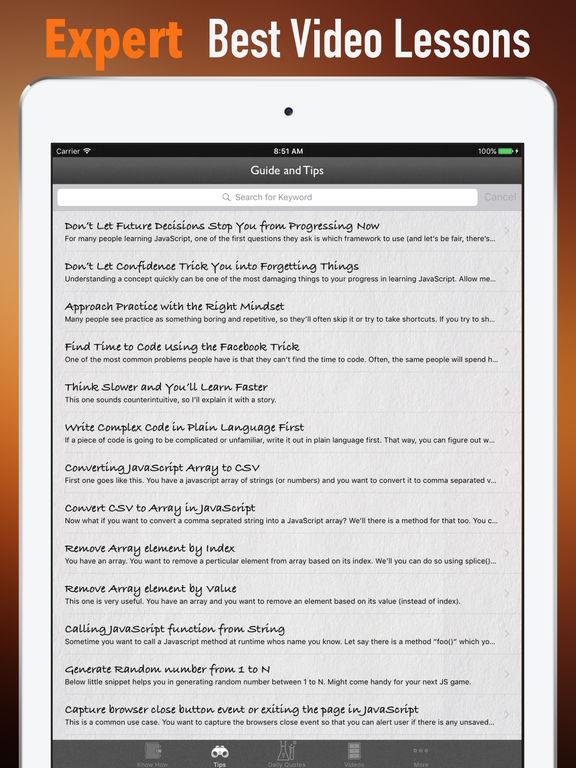 JavaScript for Beginners-Certified and Programming screenshot 8
