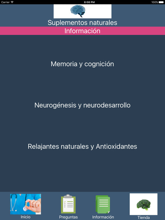 Cerebro y salud screenshot 8