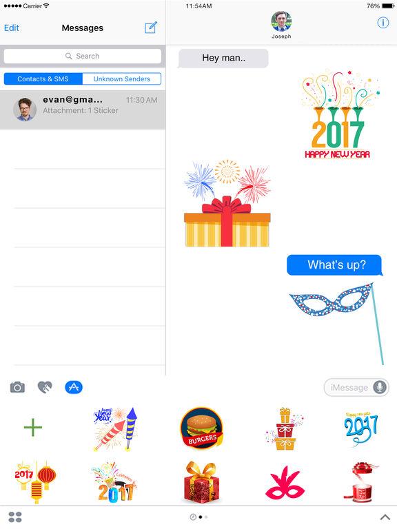 2018 Happy New Year Animated screenshot 5