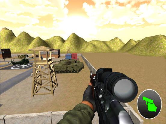 Charlie Heli Sniper Shot : 3D Mobile Kill-er Strik screenshot 5