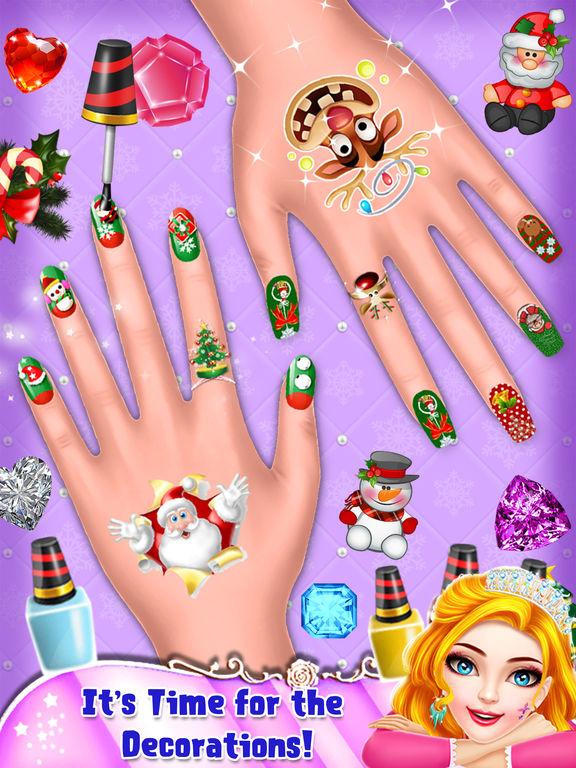 My Crazy Christmas Nail Art screenshot 9
