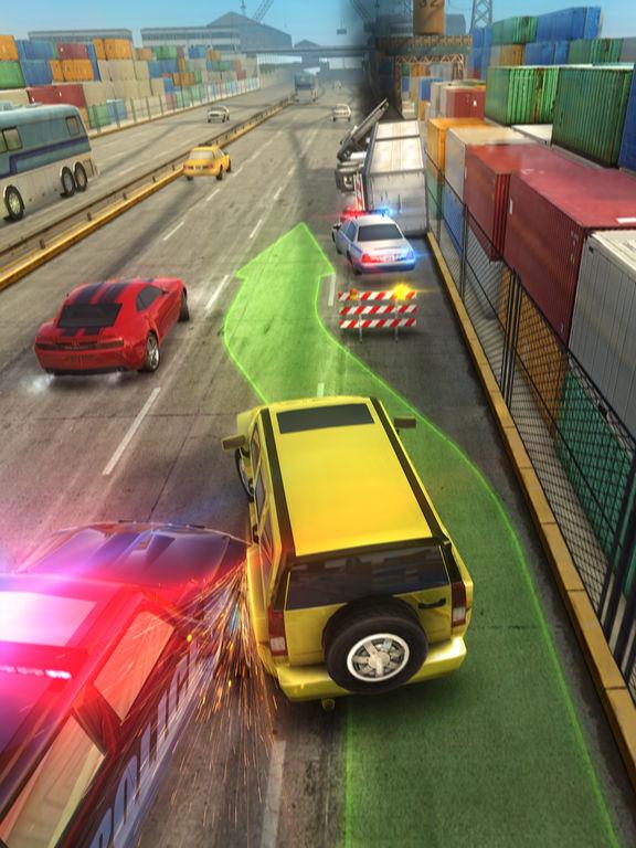 Highway Getaway: Police Chase - Car Racing Game screenshot #3